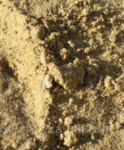 песок 0-5 mm